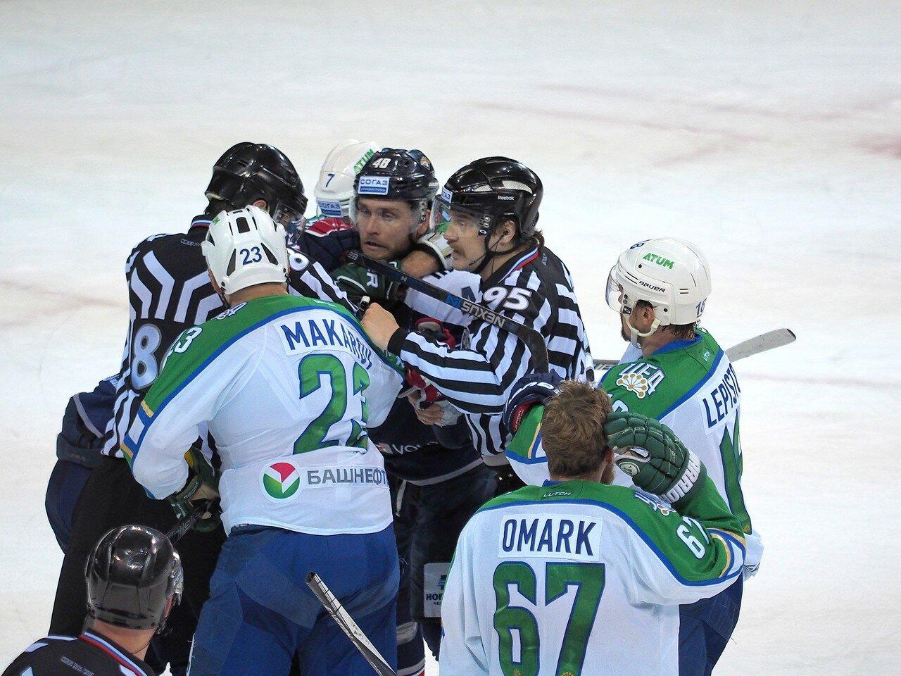 43Плей-офф 2016 Восток Финал Металлург - Салават Юлаев 25.03.2016