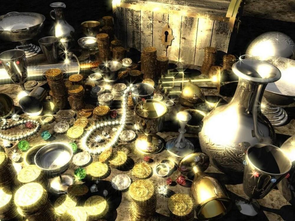 Места, где вы можете найти сокровища