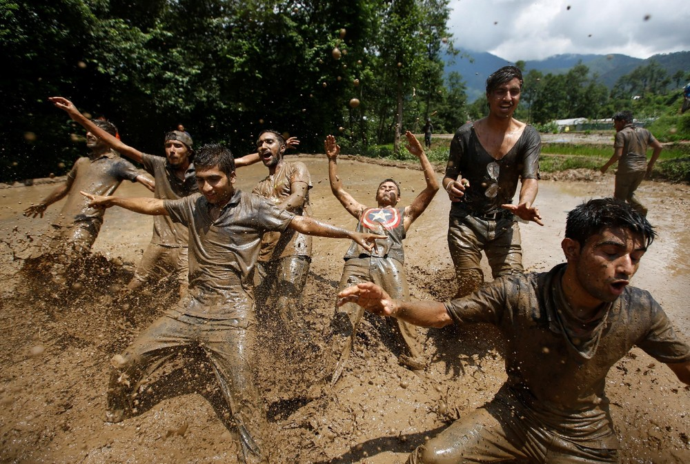 Asar Pandra Festival в Непале