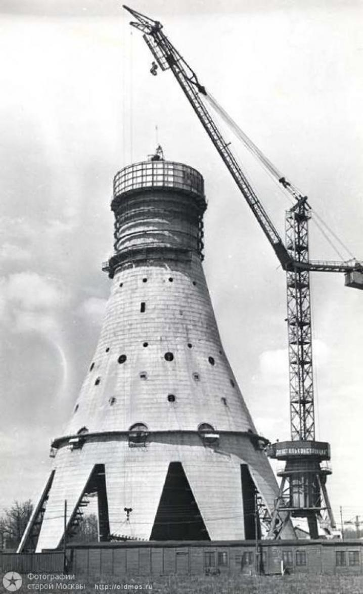 башня из проволоки схема