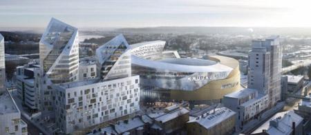 В центре Тампере выстроят огромный МФЦ
