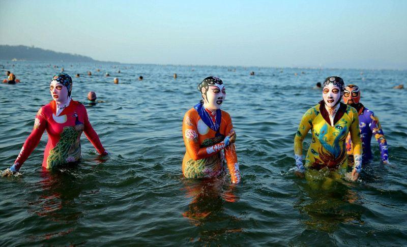 китайские купальники