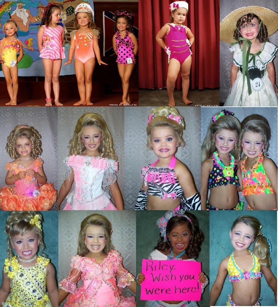 Конкурсы красоты у детей в америке