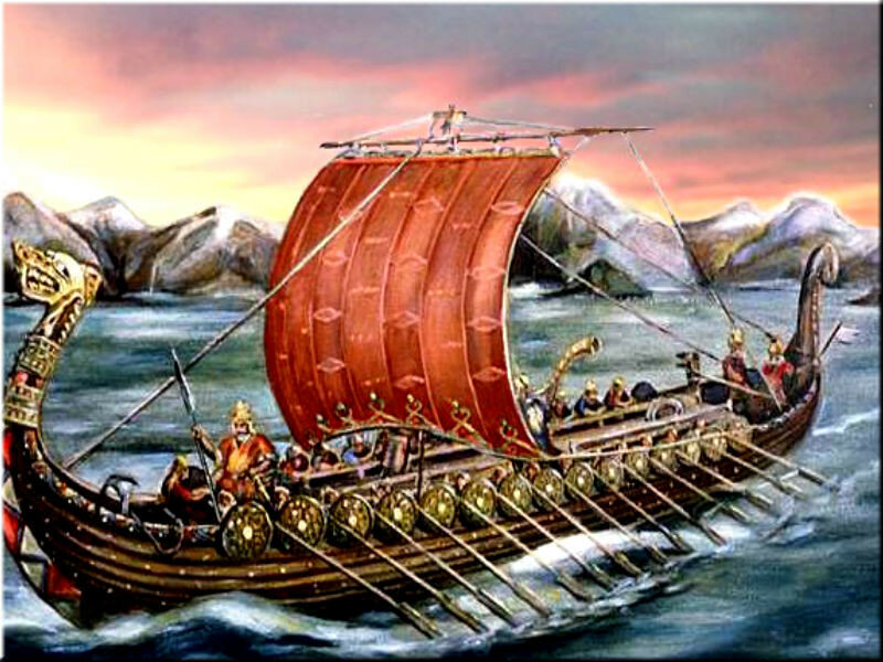 the description of the vikings and their lifestyle during the viking age in the 9th century