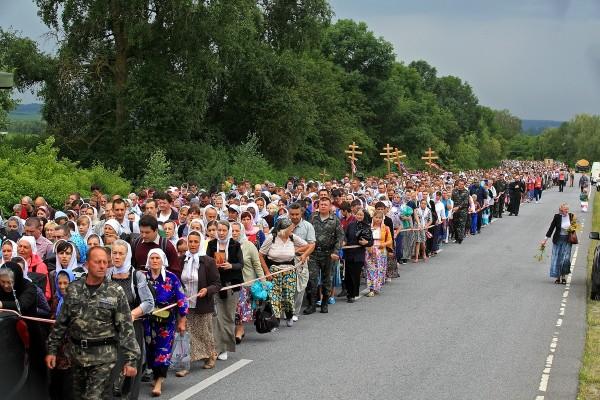 Всеукраинский крестный ход, 2016