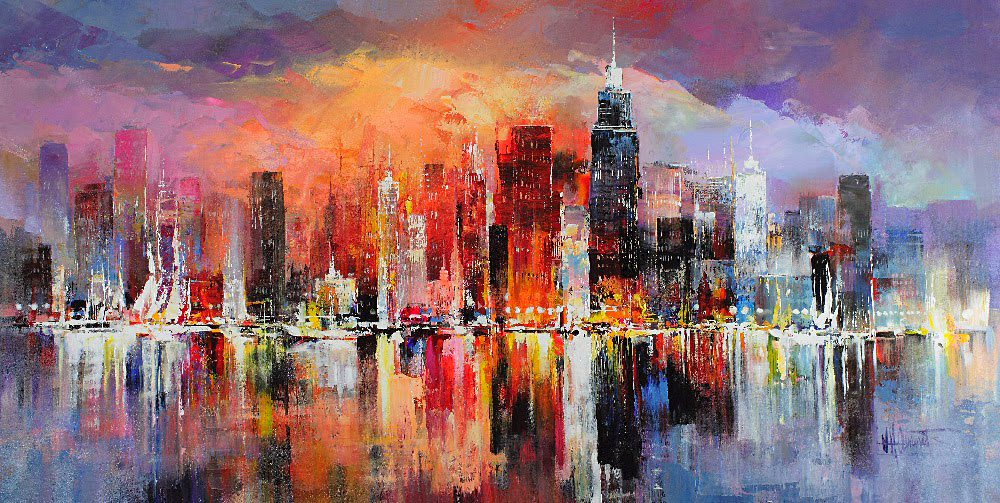 10 художников, которые видят мир трогательно красивым и восхитительно цветным