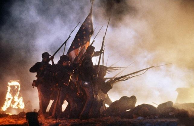 Необычный взгляд на Гражданскую войну в США: фильм посвящен 54-му Массачусетскому добровольческому п