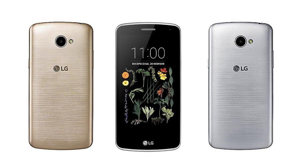Бюджетный смартфонLG K5 вышел в РФ