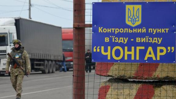 Еще два КПП возобновили заезд натерриторию Крыма сУкраины