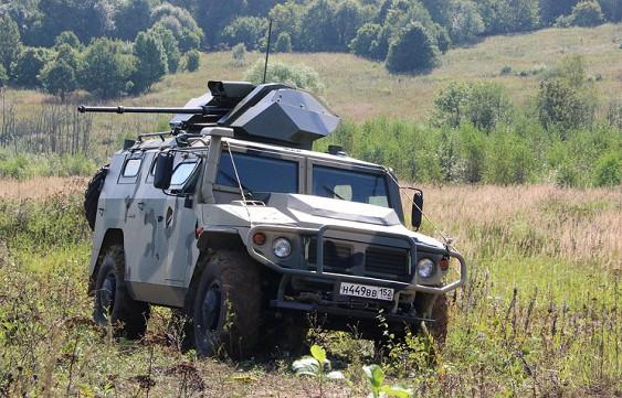 РФ поставила вСловакию партию бронеавтомобилей «Тигр»