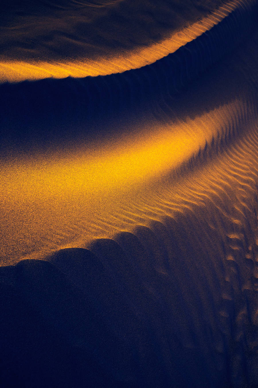 Hypnotic Sand Waves Photography Series