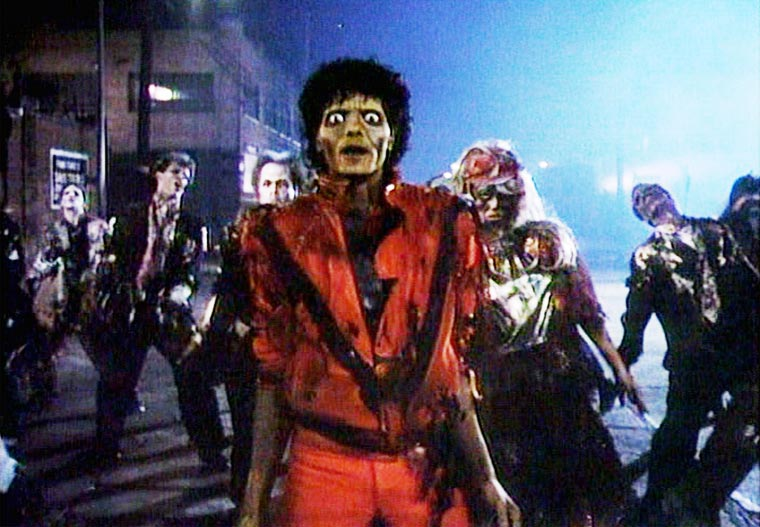 Thriller by Michael Jackson without the music (6 pics)