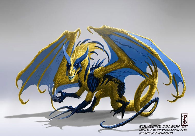 Wolverine Dragon