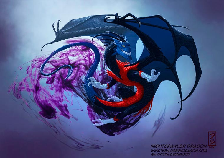 Nightcrawler Dragon