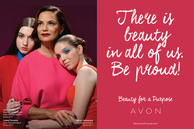 Beauty for a Purpose by Miles Aldridge for Avon