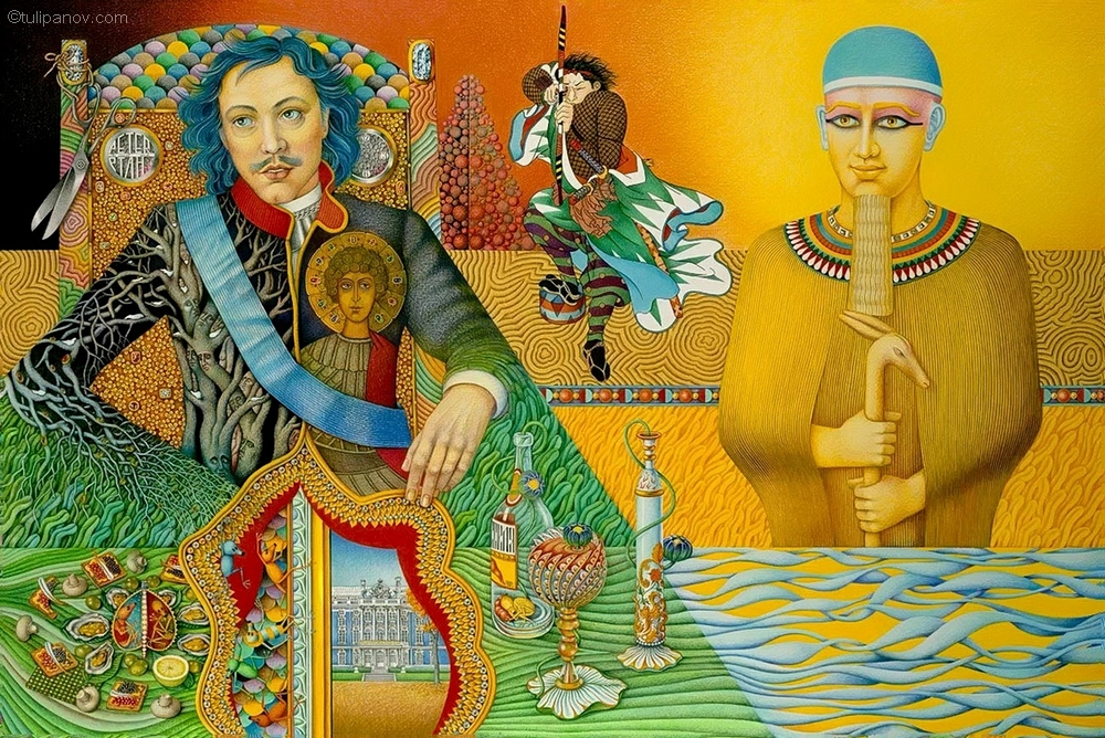 Peter the Great and Ptah.jpg
