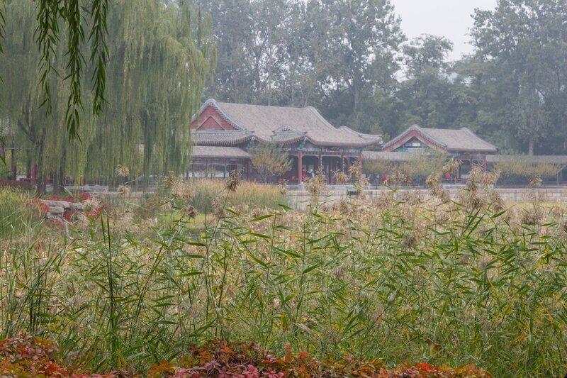 Ландшафтный парк картин пахоты и ткачества, парк Ихэюань, Пекин