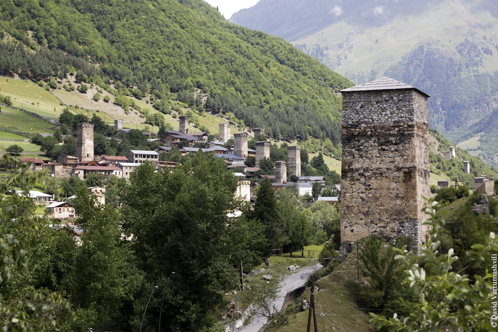 Грузия, Сванетия, Местиа