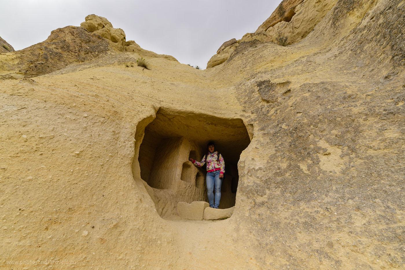 Фотография 27. Пещера в Каппадокии. Отчеты туристов о самостоятельных экскурсиях по долинам «страны прекрасных лошадей».