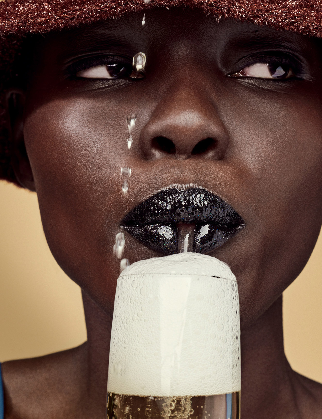 Grace Bol - Love Magazine FW2016 / photo by Phil Poynter