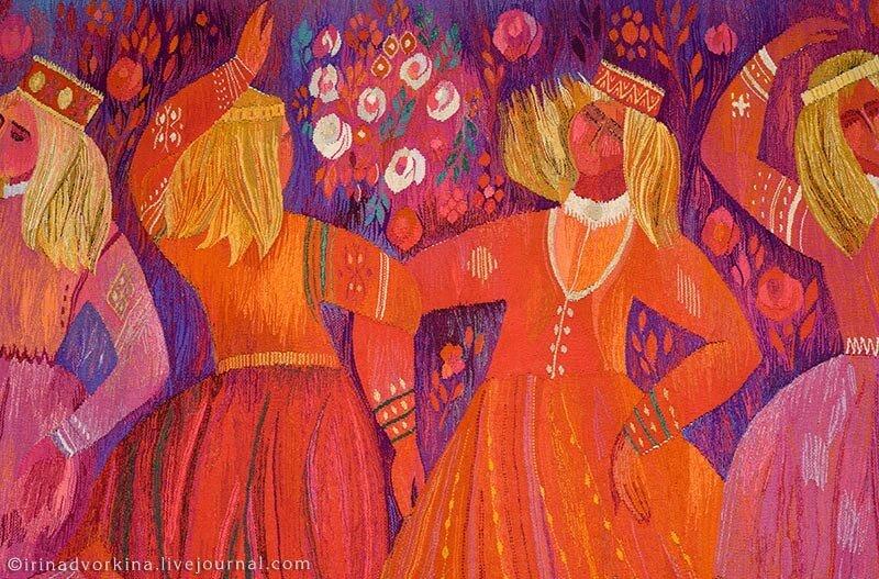 Рудольф Хеймратс. Праздничный танец (1973–1975). Фрагмент