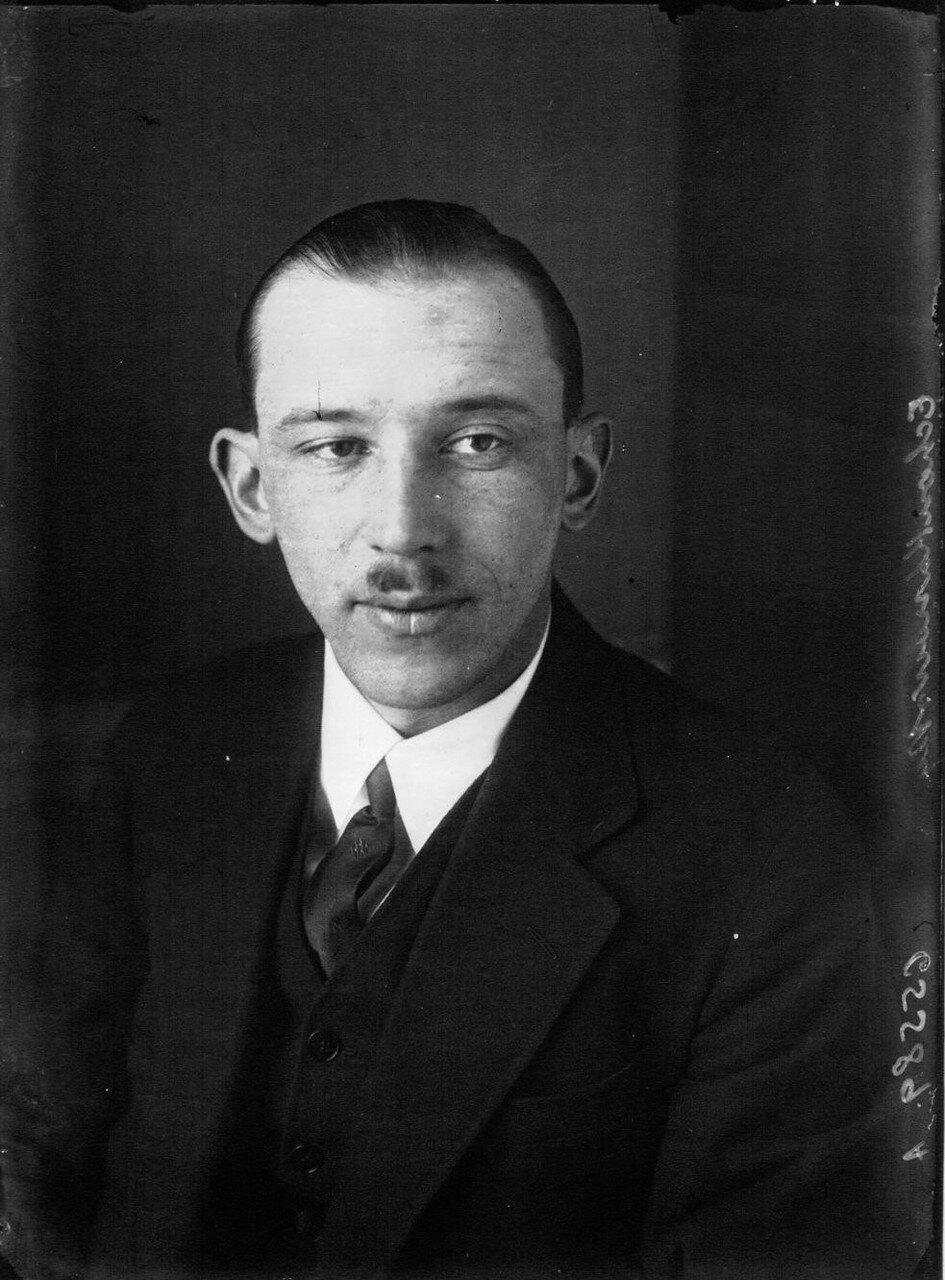 1929. Борис Григорьевич Чухновский, русский авиатор