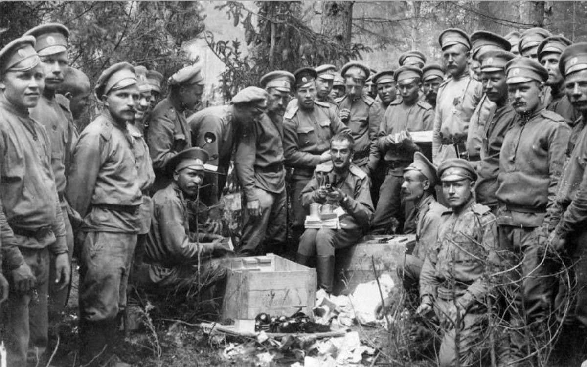 1915. Офицеры полка
