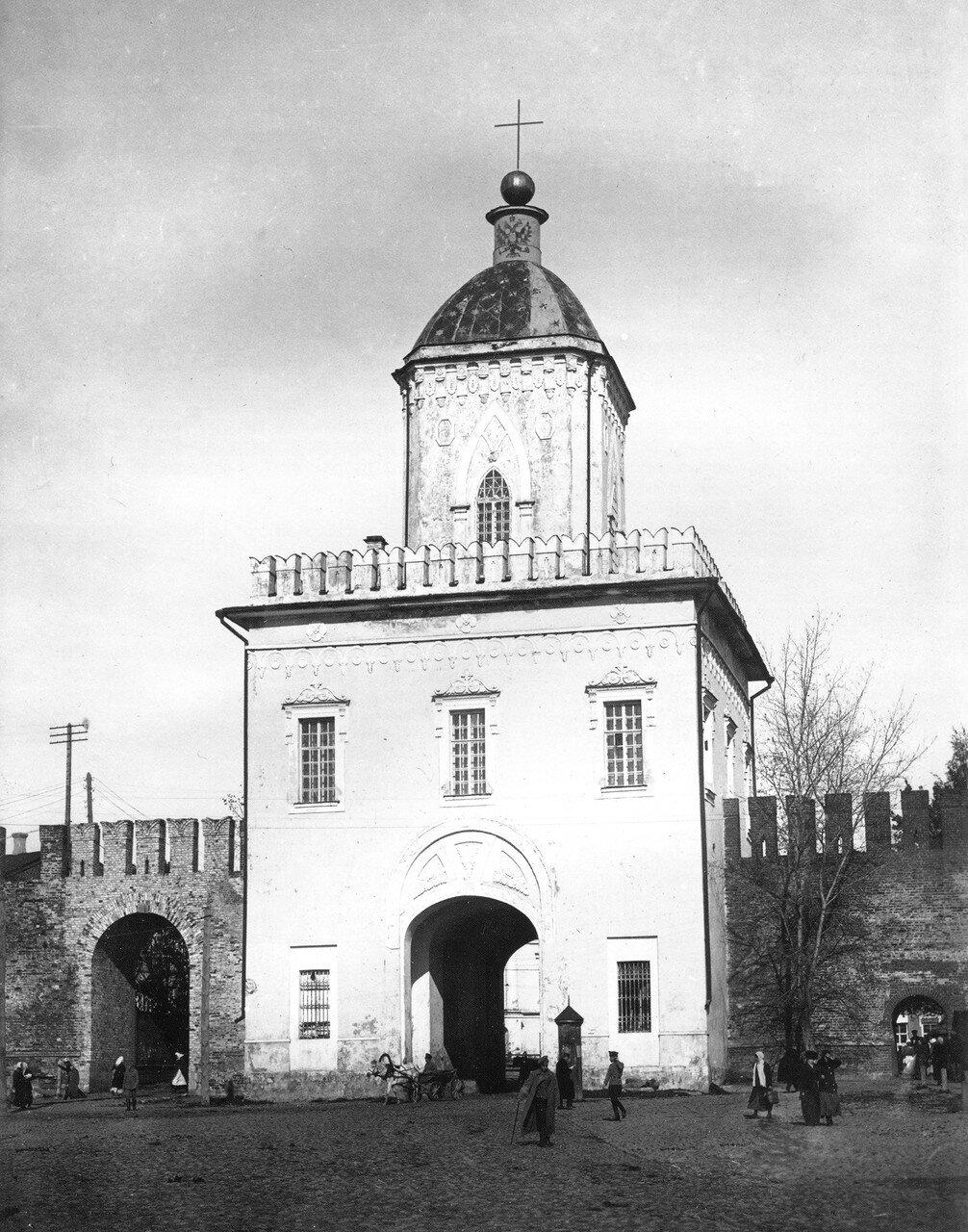 Молоховские ворота. 1918