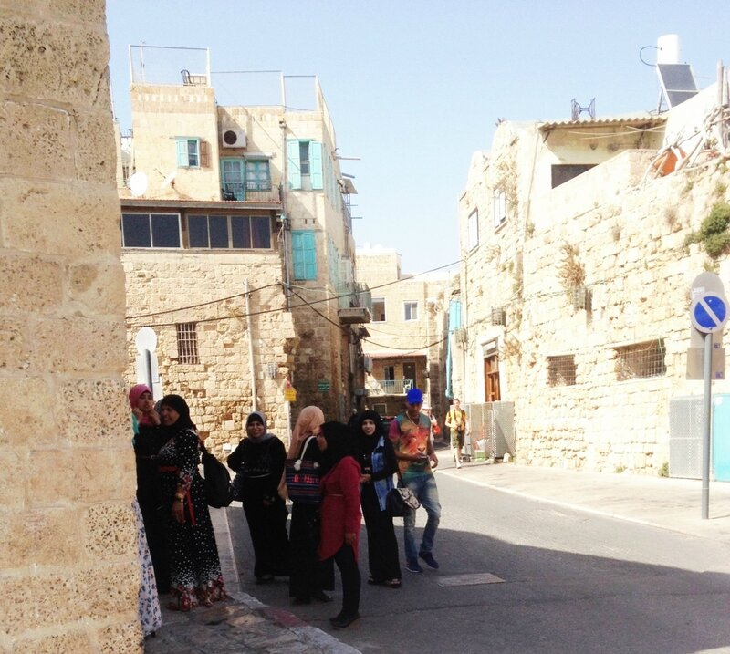 Арабские девушки в Акко