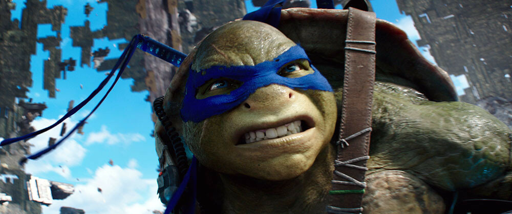 Leonardo in Teenage Mutant Ninja Turtles: Out of the Shadows from Paramount Pictures, Nickelodeon Movies and Platinum Dunes