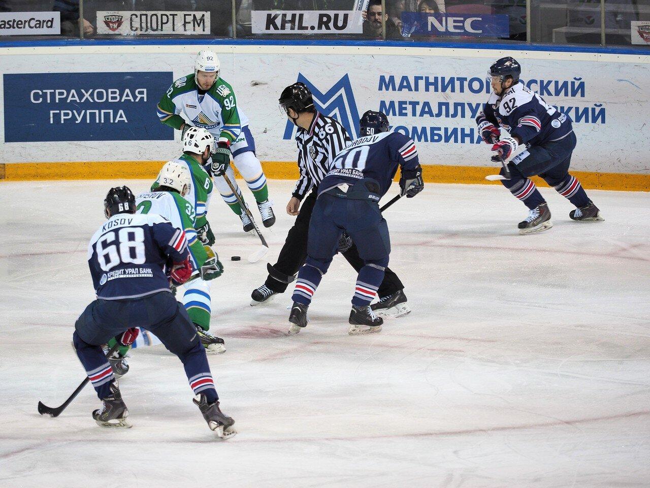 78Плей-офф 2016 Восток Финал Металлург - Салават Юлаев 23.03.2016
