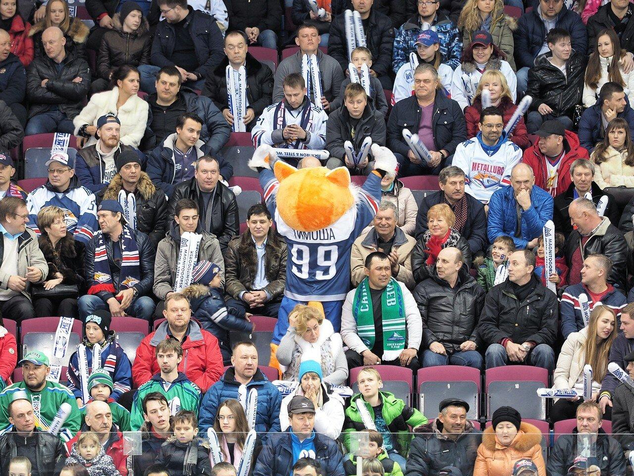 87Плей-офф 2016 Восток Финал Металлург - Салават Юлаев 23.03.2016