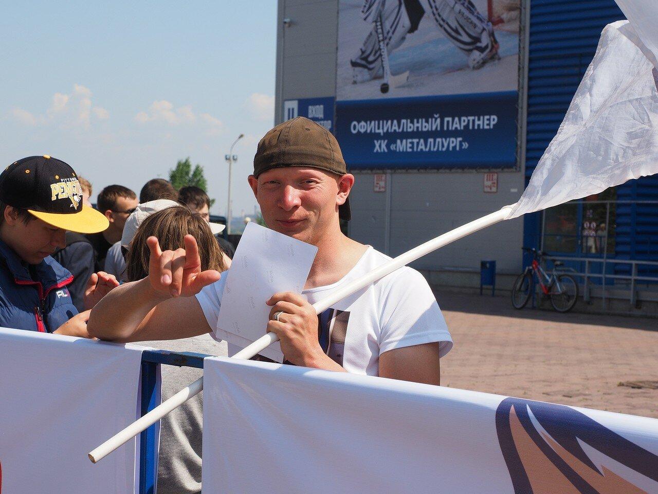 9Церемония чествования команды Металлург27.05.2016