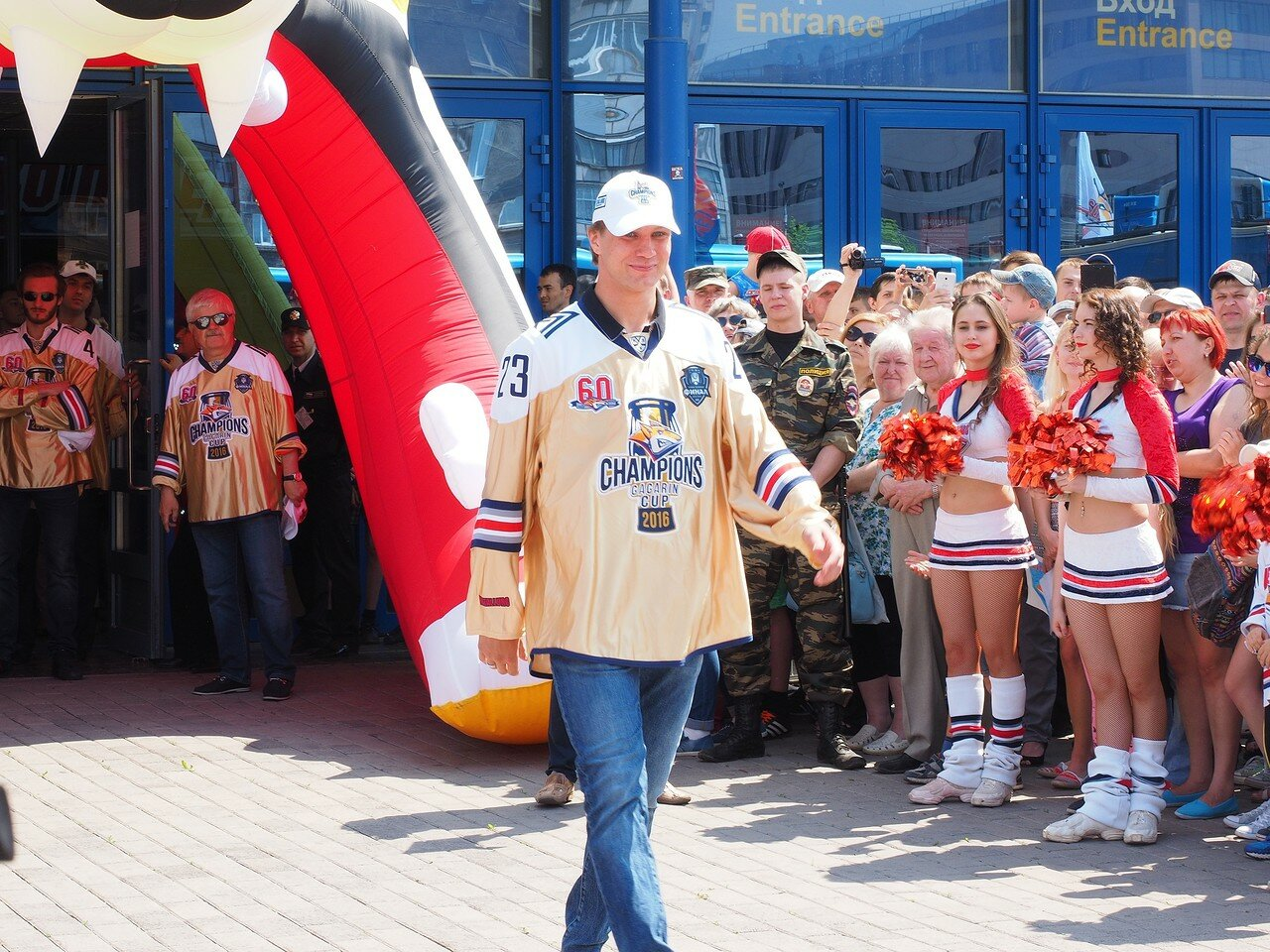 58Церемония чествования команды Металлург27.05.2016