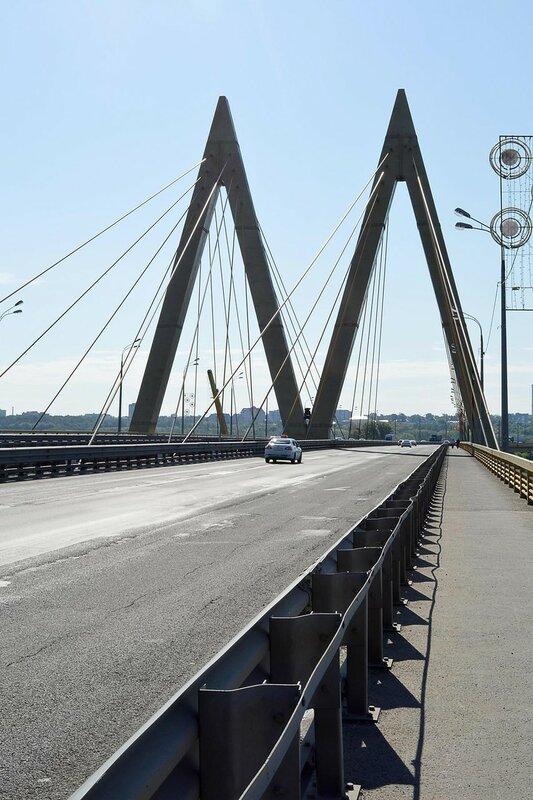 Прогулка по мосту Миллениум