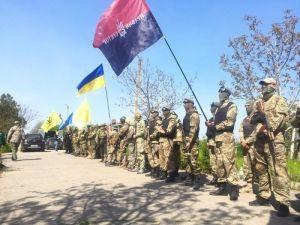 Под Одессой состоялся приуроченный к 2 мая военизированный выучку
