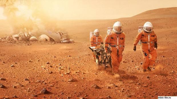 В NASA определились с датой полета на Марс