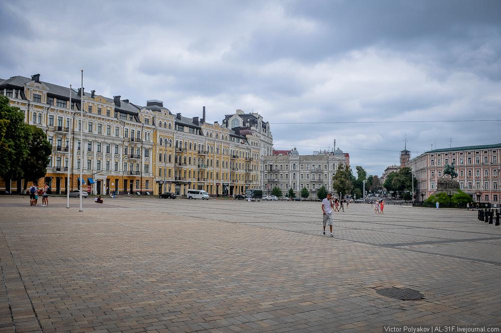 Софийская площадь. Киев