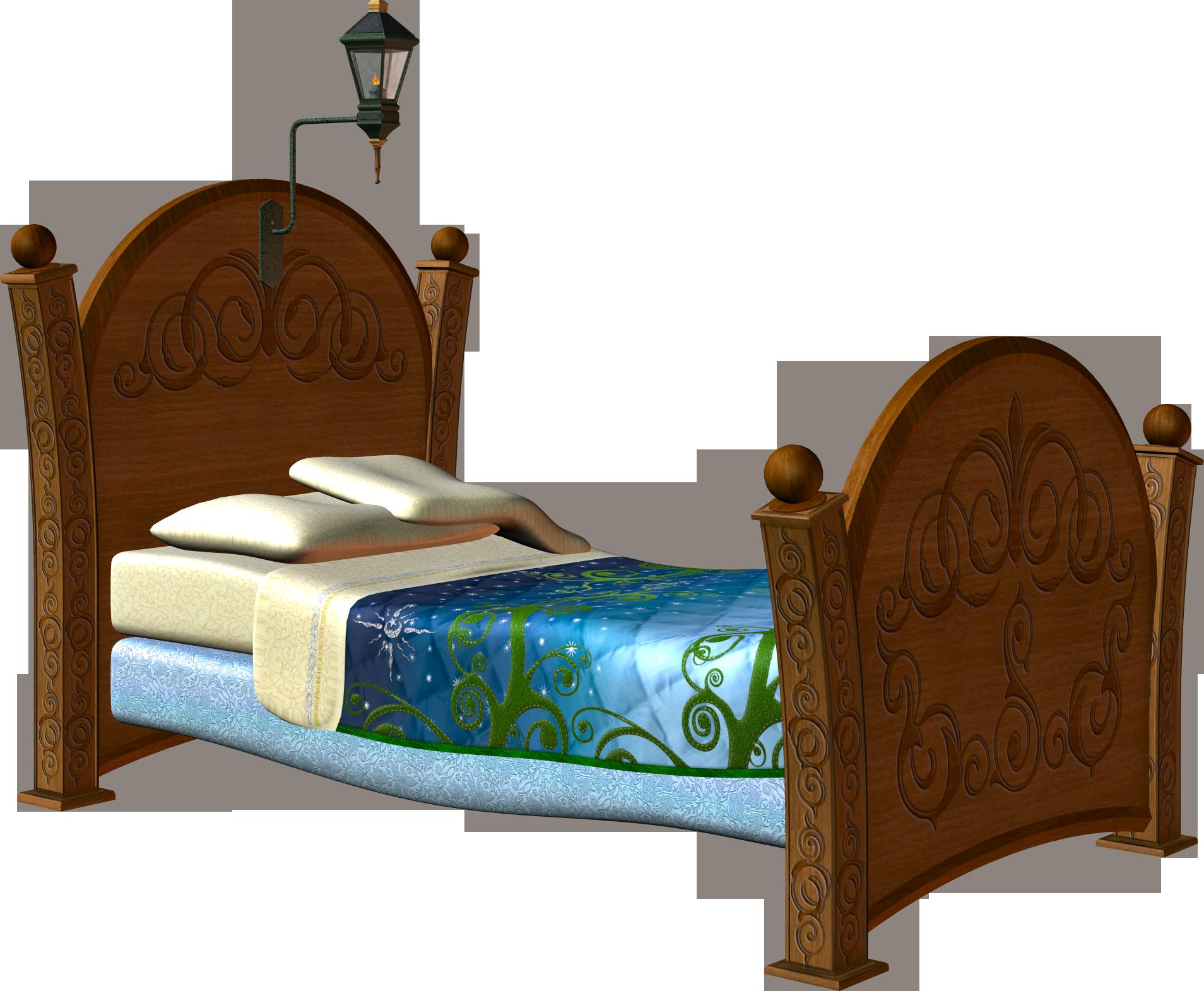 Нарисованная кровать картинка