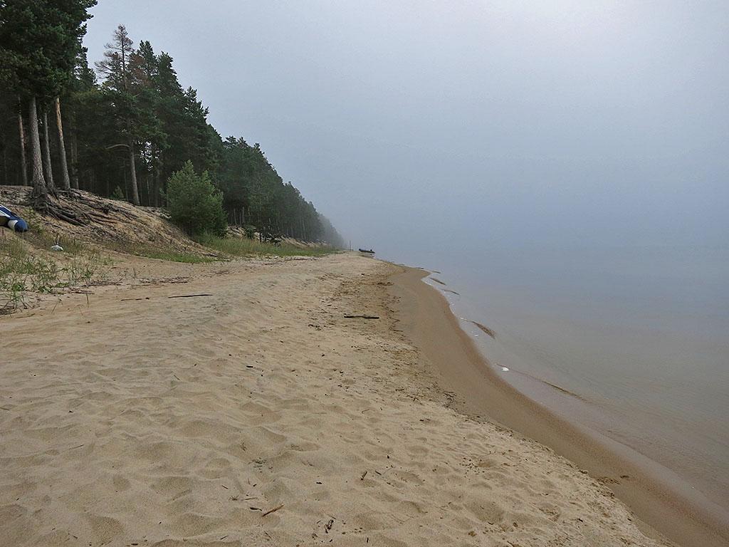 Утро в тумане над Онегой