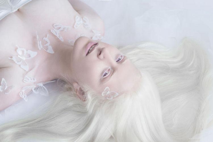 Хрупкая красота: удивительные портреты альбиносов, которые так не похожи на нас (9 фото)