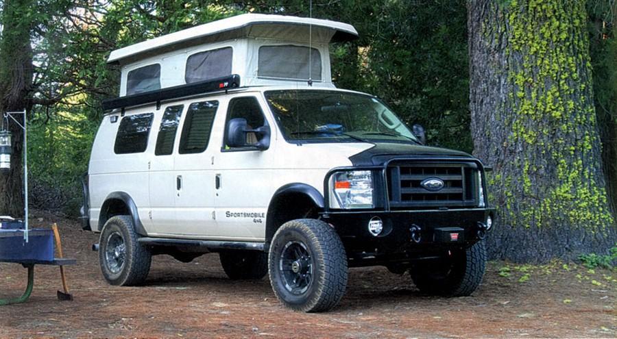 Sportsmobile Classic Модель Ford E-Series десятилетиями верой и правдой служила автотуристам. Недавн