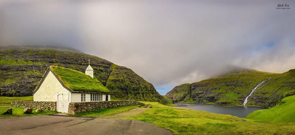 Церковь Саксуна, Фарерские острова.