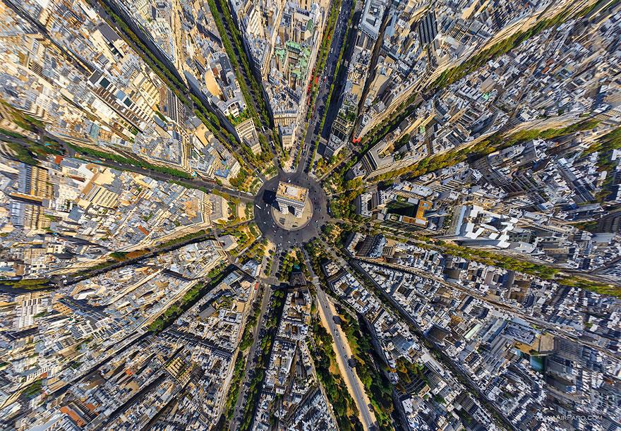 12. Триумфальная арка, Париж, Франция