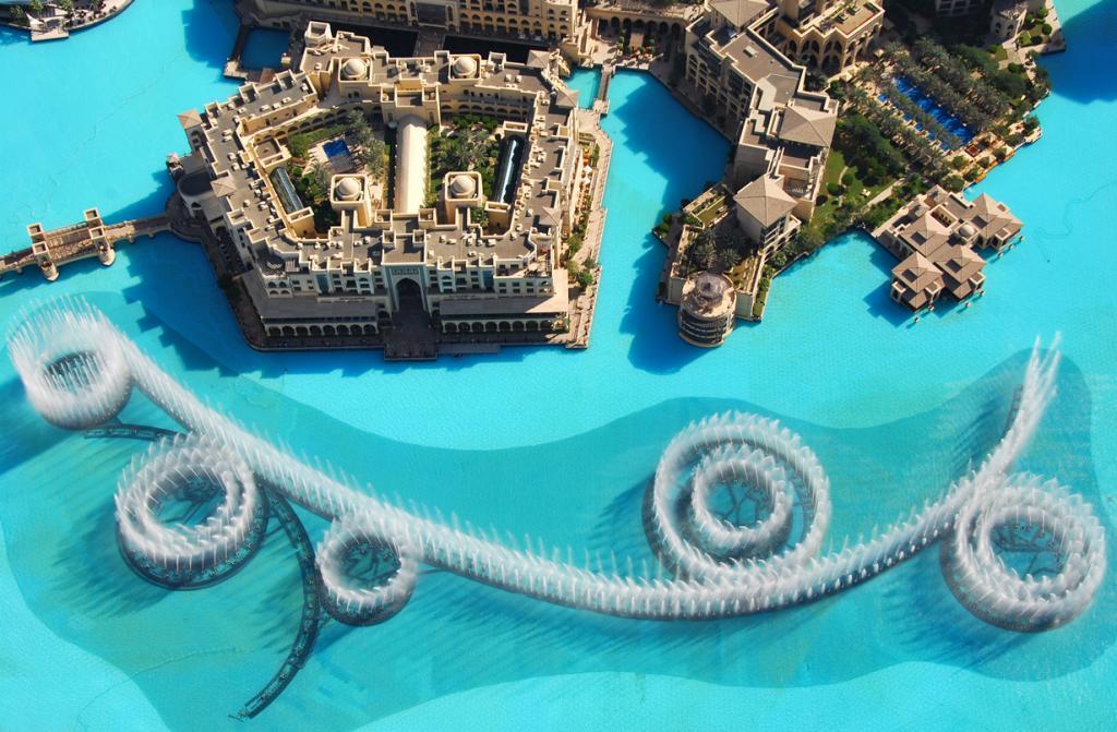 ОАЭ. Дубай. Фонтан Дубай. (Paolo Rosa)