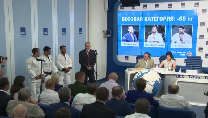 Российский дзюдоист Хасан Халмурзаев принес сборнойРФ третье «золото»