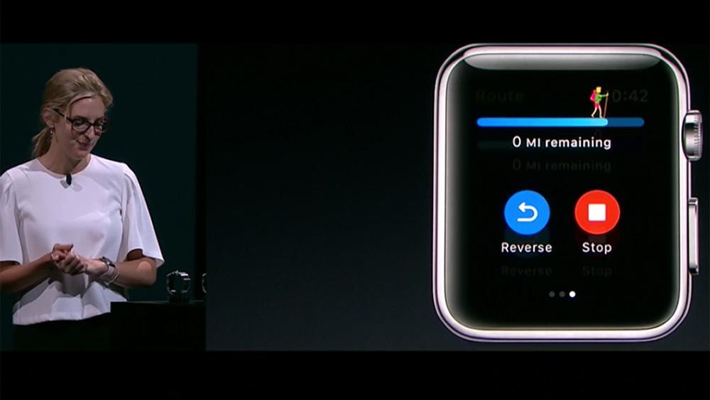 Apple представила новый тип «умных» часов Apple Watch Series 2