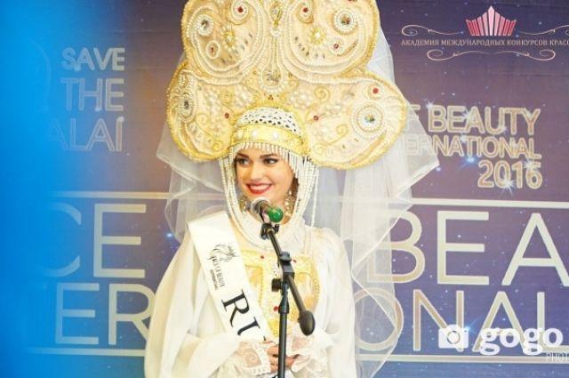 Красноярка Алена Раева одолела вконкурсе «Самое красивое лицо мира-2016»
