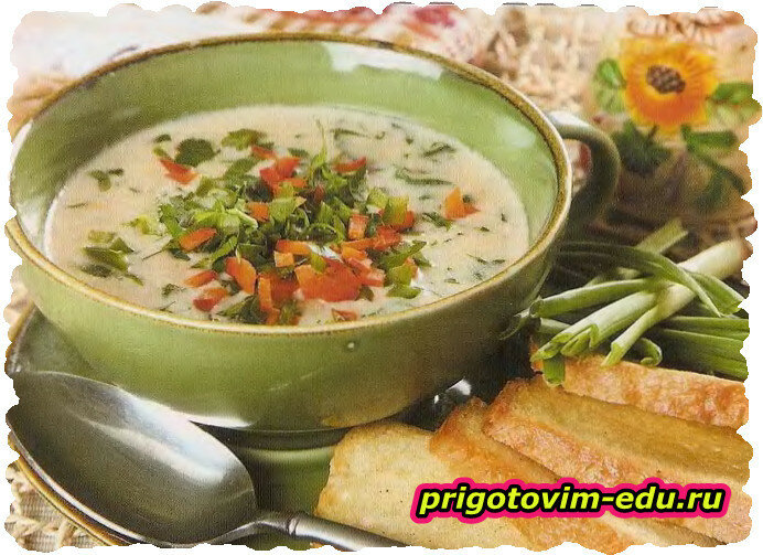 Суп с петрушкой