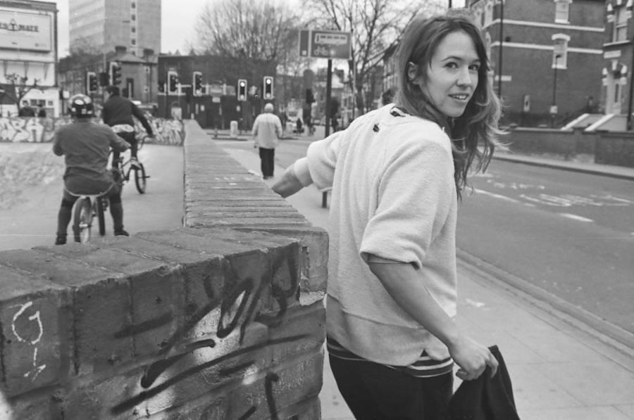 Urban Photographs of Female Skateboarding